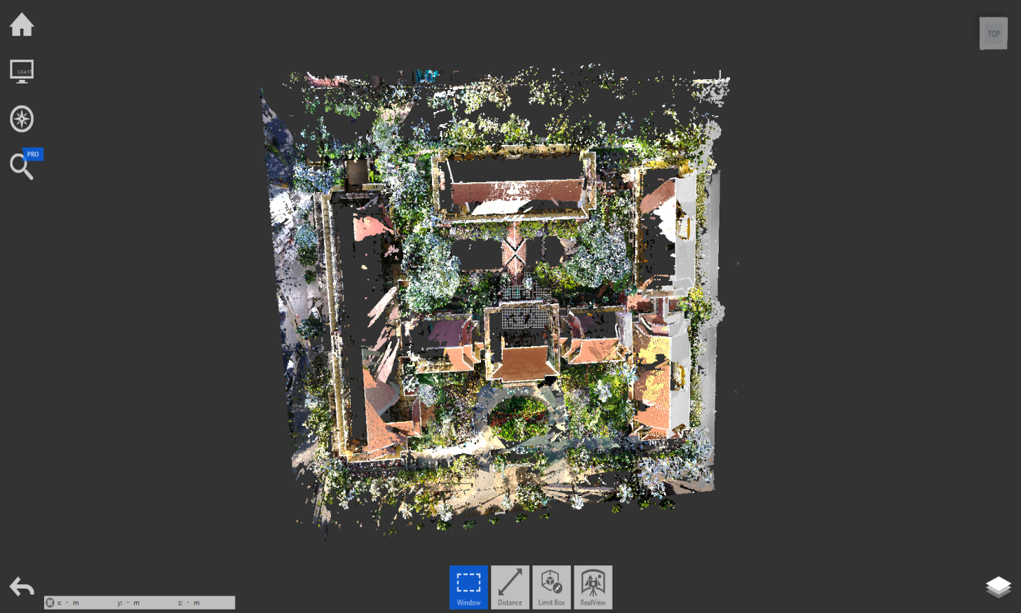 3D Scan and convert pointcloud to Revit for project Raffles